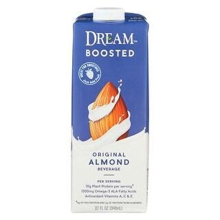Dream Boosted Original Almond Beverage - Case of 6 - 32 FL oz.