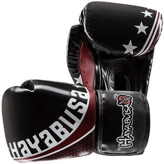 Hayabusa Professional Muay Thai Boxing Gloves, Black - bag mma training sparring