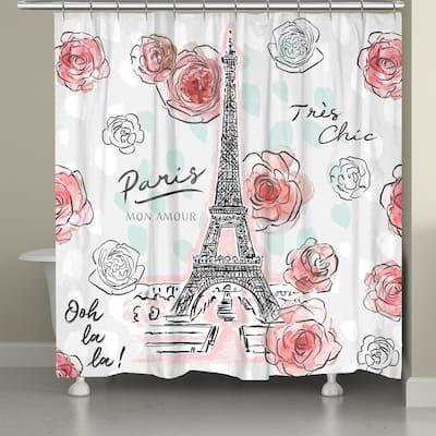 High Fashion Paris Shower Curtain