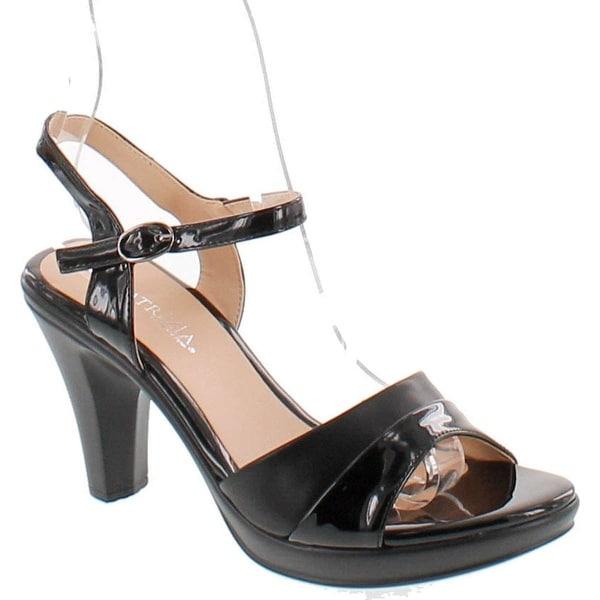Patrizia Piera Women's Sandal - black-shiny