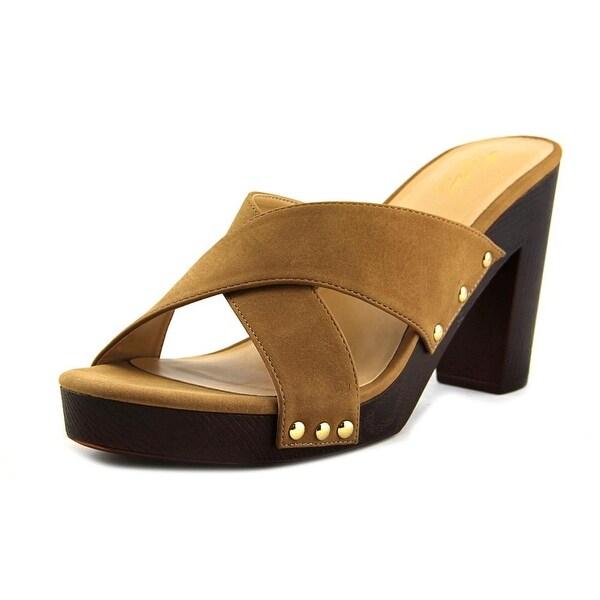 Thalia Sodi Ivanna Women Camel Sandals