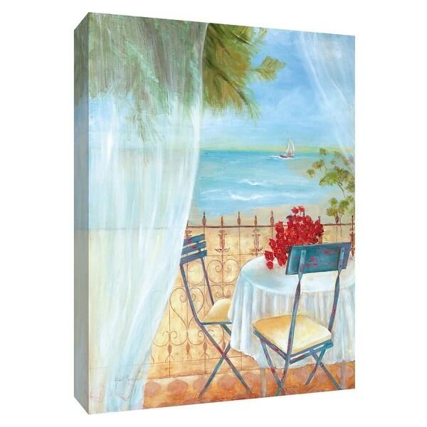 "PTM Images 9-148425 PTM Canvas Collection 10"" x 8"" - ""Veranda Vista II"" Giclee Beaches Art Print on Canvas"