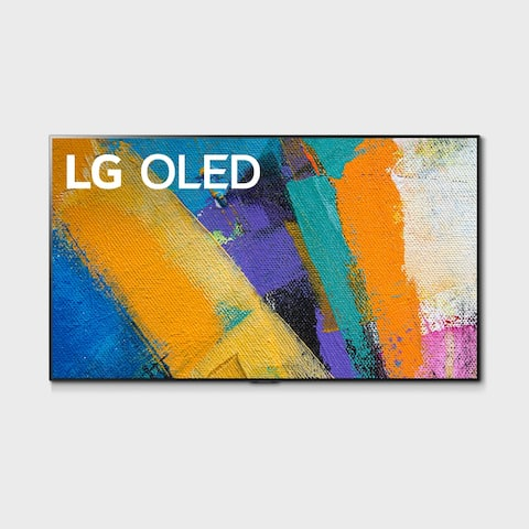 "LG GX 65 inch Class with Gallery Design 4K Smart OLED TV w/AI ThinQ® (64.5"" Diag) - Black - 60 Inches & Over"
