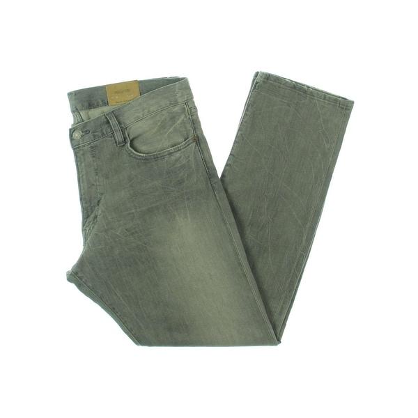 ffa202522 Shop Polo Ralph Lauren Mens Classic Straight Jeans Denim Varick Slim ...