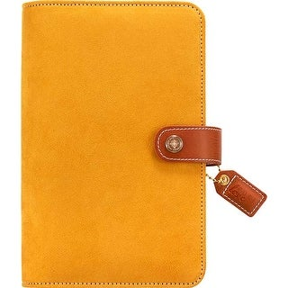 "Mustard Suede - Color Crush Faux Leather Personal Planner Kit 5.25""X8"""