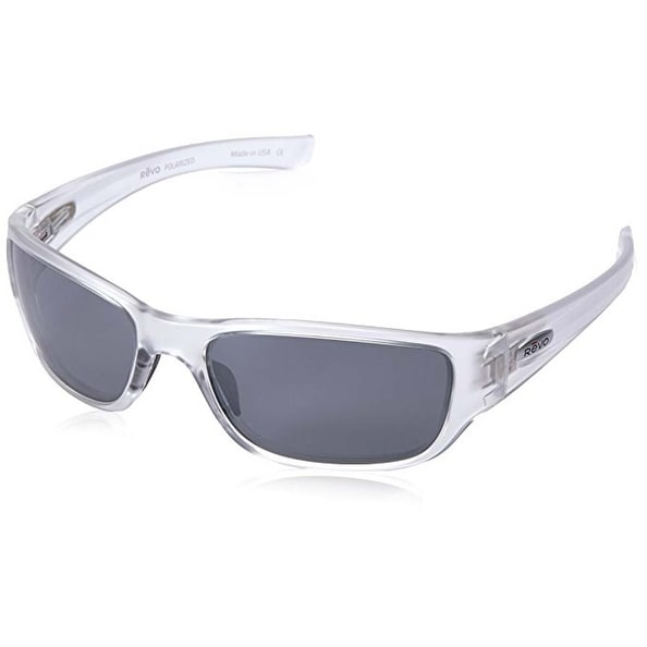5d8c8b16adf Shop Revo Eyewear Sunglasses Mason Crystal with Graphite Polarized Lenses -  Free Shipping Today - Overstock.com - 15429081