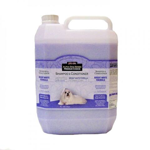 Alpha Dog Series Shampoo & Conditioner - Bright White Formula - (4L)