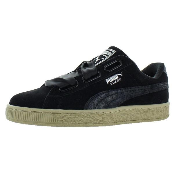 Shop Puma Womens Suede Heart Safari Fashion Sneakers Low Top