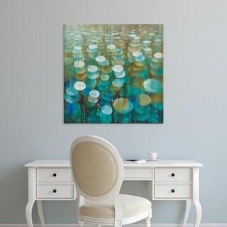 Easy Art Prints Danhui Nai's 'Rain Drops' Premium Canvas Art
