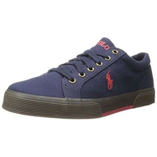 Polo Ralph Lauren Men's Felixstow-Canvas Fashion Sneaker