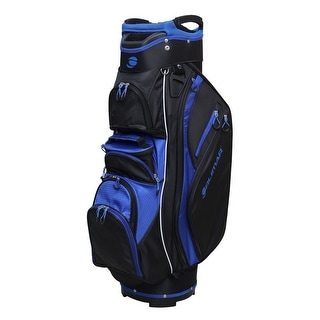 Link to Orlimar Golf CRX Cooler Cart Bag - Black/Blue Similar Items in Golf Bags & Carts