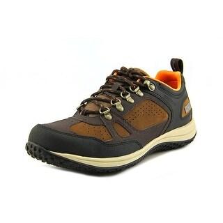 Rockport WALK360 Toe Guard Oxford Men Round Toe Synthetic Brown Walking Shoe