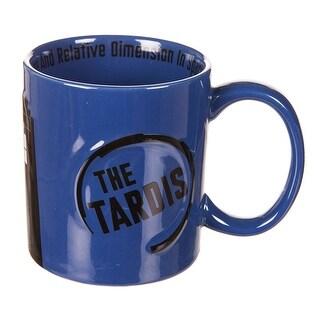 Doctor Who TARDIS 2D Relief 11oz. Ceramic Mug - Multi