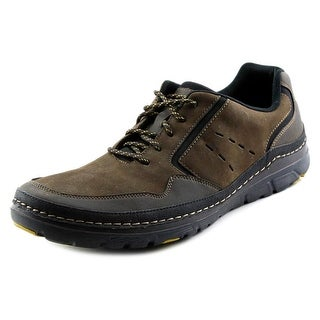 Rockport ActiveFlex Rocsport Lace Up Men Round Toe Leather Brown Walking Shoe