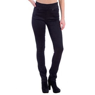 Lola Rebeccah-BLK, High Rise Pull On Straight leg with 4-way stretch