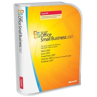 Microsoft Office Small Business 2007 Upgrade