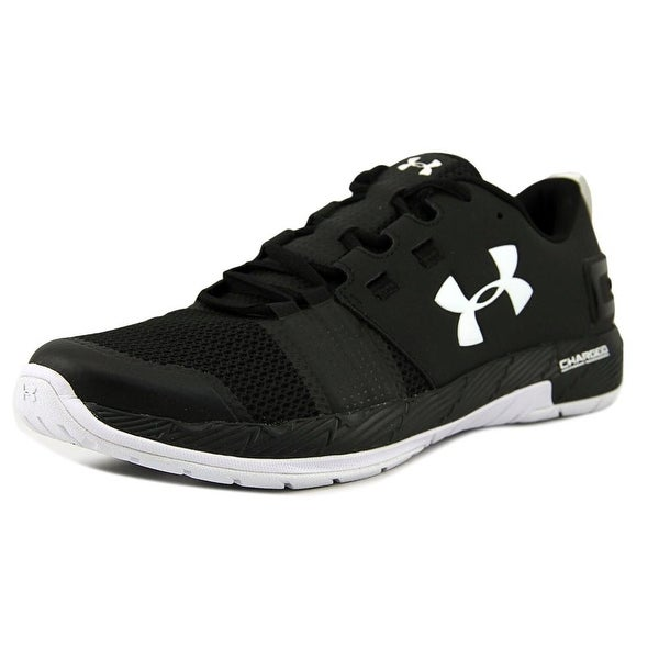 Under Armour Charged Legend TR Stripe Men Synthetic Black Basketball Shoe