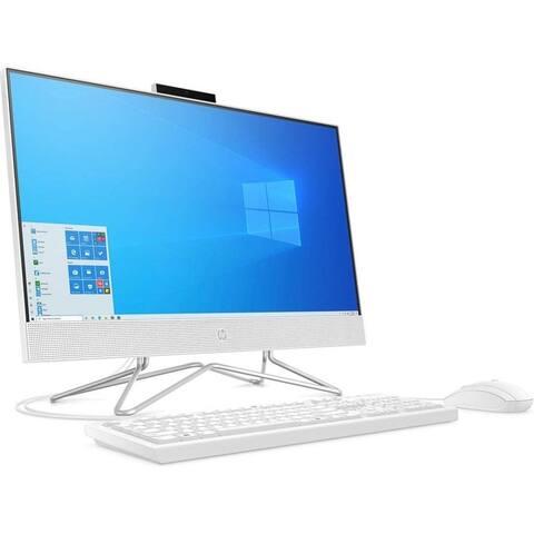 "HP 24-dd0017c 23.8"" Full HD All-in-One Desktop Computer, 8GB"