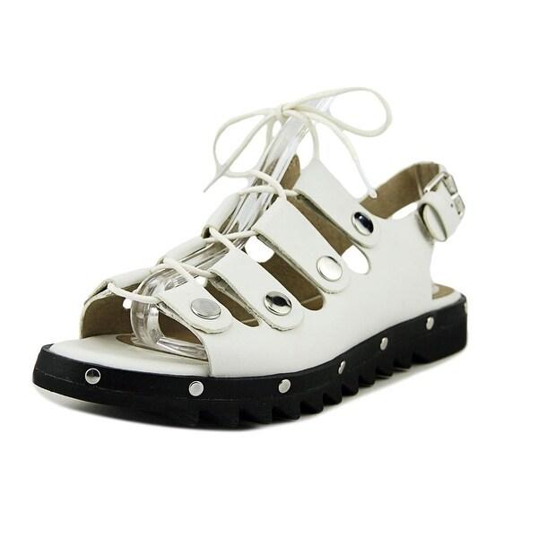 Bussola Bea White Sandals