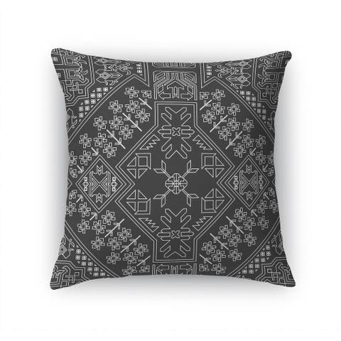 BAYBAR CHARCOAL Accent Pillow By Kavka Designs
