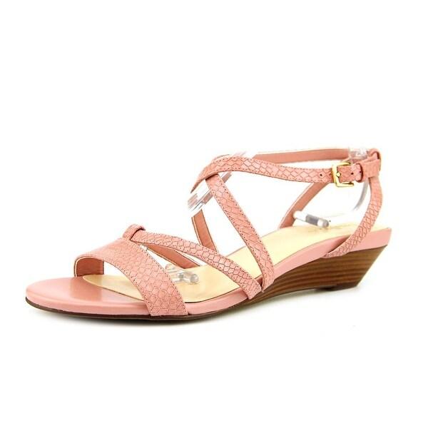 Cole Haan Kierin. Sandal. II Open-Toe Leather Slingback Sandal