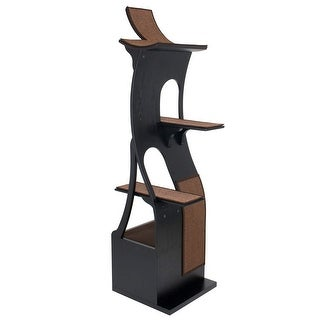Frontpet Willow Cat Tree Tower Espresso