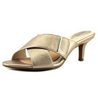 Alfani Womens Larrk Open Toe Casual Mule Sandals