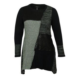 Style & Co Women's Tunic Sweater - grey combo
