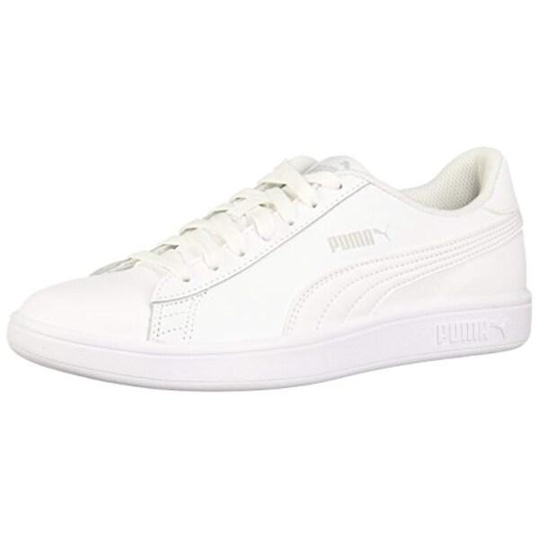 PUMA Men's Smash v2 Sneaker White 7 M US