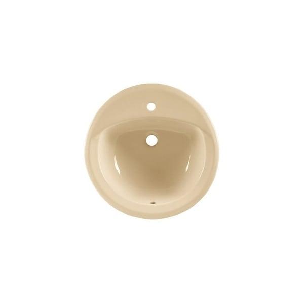 """American Standard 0490.156 Rondalyn 19-1/8"""" Drop In Porcelain Bathroom Sink"""