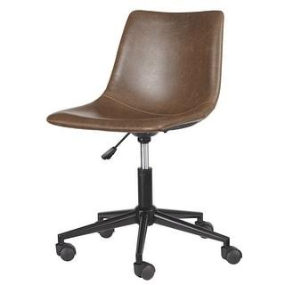 Office Chair Program Home Office Swivel Desk Chair Brown H200-01 4-Pack Home Office Swivel Desk Chair