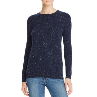 Private Label Womens Crewneck Sweater Cashmere Speckled (3 options available)