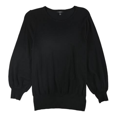 Alfani Womens Bishop Sleeve Pullover Sweater