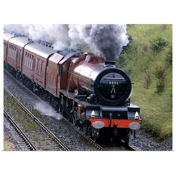 """Passenger train , Culgaith , England"" Poster Print"