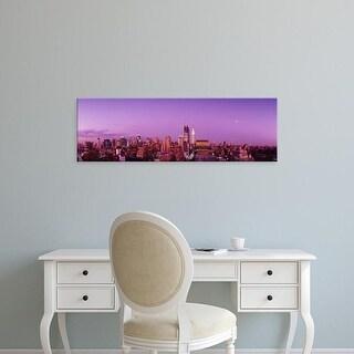 Easy Art Prints Panoramic Images's 'Midtown NYC, New York City, New York State, USA' Premium Canvas Art