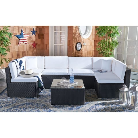 SAFAVIEH Outdoor Living Diona Patio Sectional Set