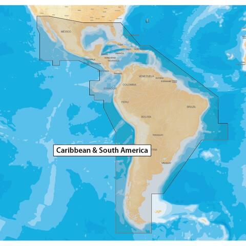 Navionics caribbean & s amer navionics+ msd format msd/nav+3xg