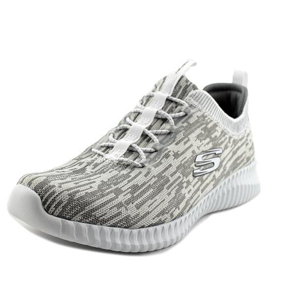 Skechers Elite Flex Hartnell Men Round Toe Synthetic White Sneakers