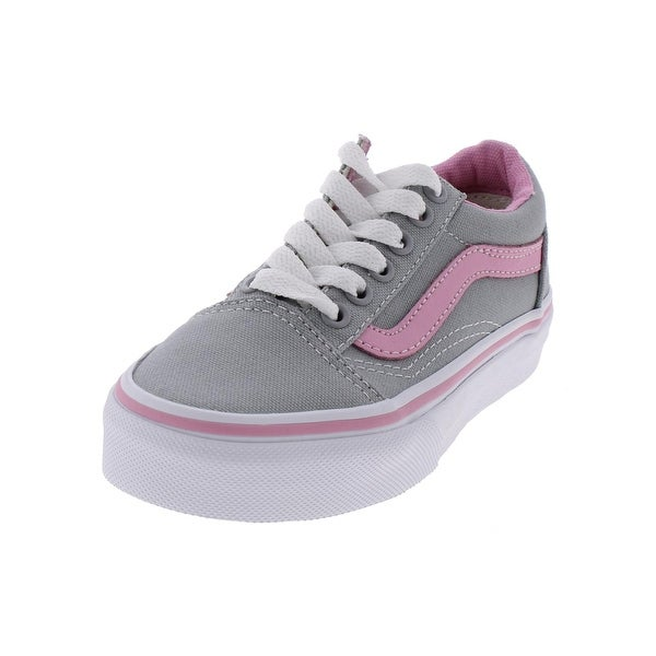 ef179cb4b0 Shop Vans Girls Pop Canvas Casual Shoes Low Top Round Toe - Free ...