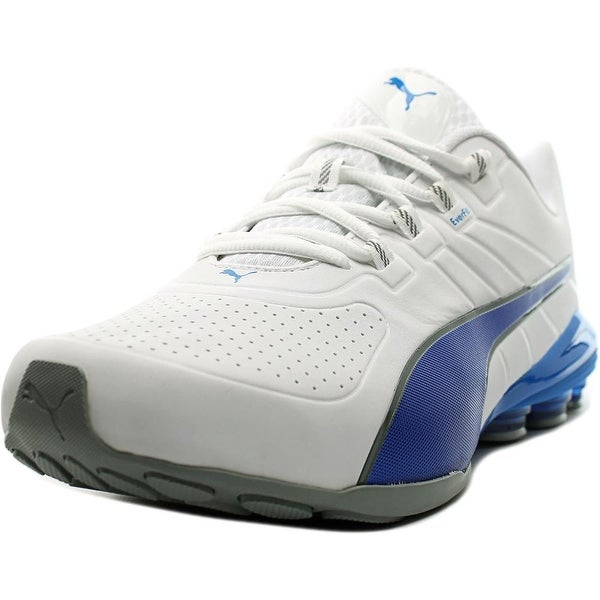Puma Voltage 180 SL Men Round Toe Synthetic White Running Shoe