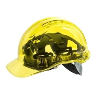 Portwest PV54YER Peak View Plus Helmet, Yellow