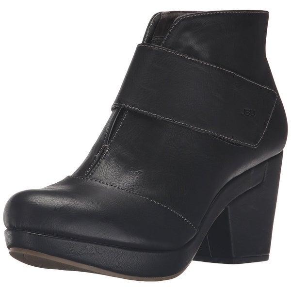 JBU Womens Jasper Closed Toe Ankle Fashion Boots