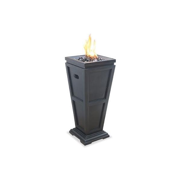 Shop Blue Rhino Glt1332sp Lp Gas Outdoor Fireplace Medium Black