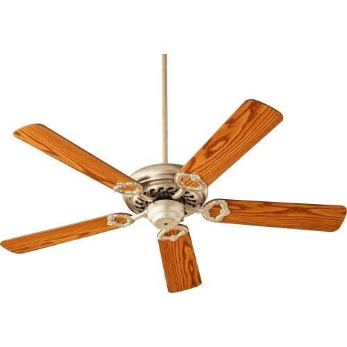 "Quorum International 17525 Monticello 52"" 5 Blade Hanging Indoor Ceiling Fan with Reversible Motor, and Blades"