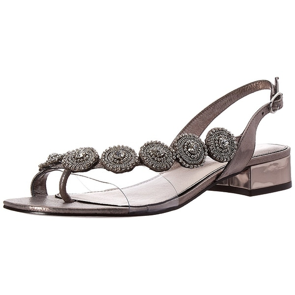 Adrianna Papell Womens Daisy Split Toe Formal Ankle Strap Sandals