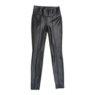 Bar III Women's Super Skinny Pants - Deep Black
