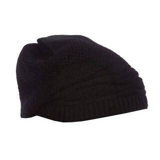 Nika Knit Angora Winter Hat