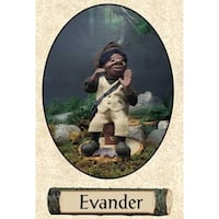 """11"""" Zims Woodland Elves Themselves Evander Collectible Christmas Elf Figure"""