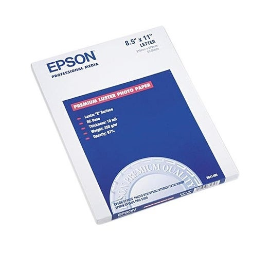 Epson S041405 Ultra Premium Photo Paper 64 Lbs. Luster
