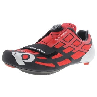 Pearl Izumi Mens Pro Leader II Mesh Inset Cable Closure Cycling Shoes